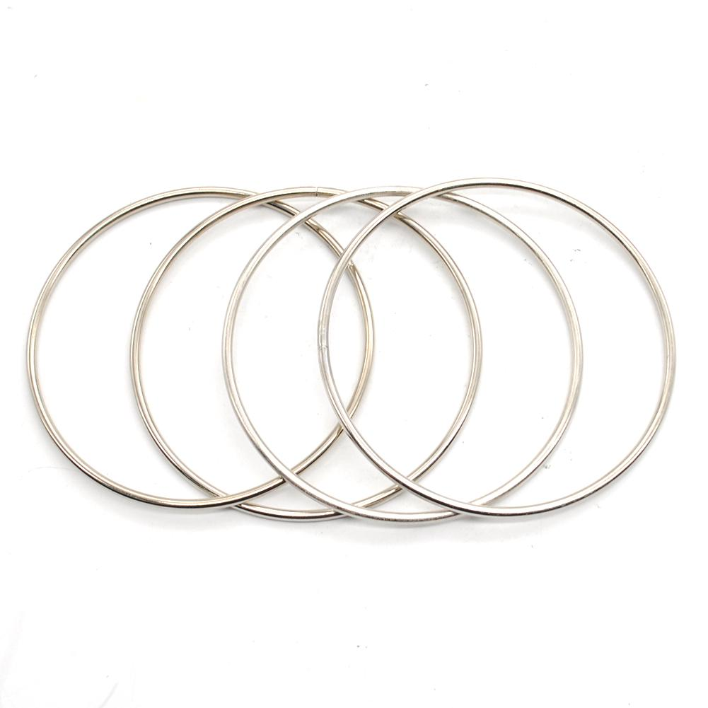New Metal Linking Rings Magic Tricks Kit Toy Connected Stage Accessories