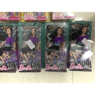 Búp bê barbie made to move