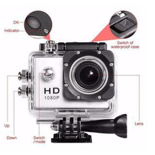 Camera hành trình HD 1080 Sport Cam A9, Máy Ảnh, Máy quay phim tốc độ Full HD 1080P - -Châm Store