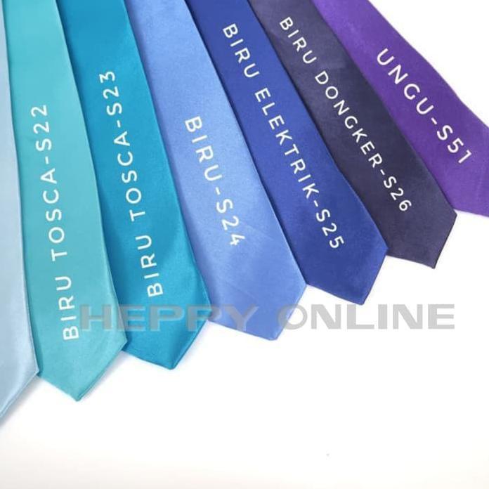 Cà Vạt Satin Màu Trơn Cho Nam Và Nữ