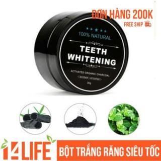 Combo 2 Bột Trắng Răng Than Tre Hoạt Tính Nhật Bản Teeth Whitening – Tặng 1 Bút Tẩy Trắng Răng Dazzling Whitening