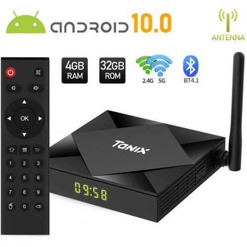 Android Tivi Box TX6S 4G 32G Allwinner H6 Android 10 - TX6S