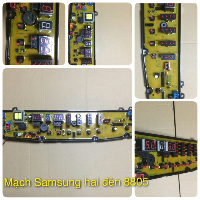 Mạch máy giặt Samsung 2 đèn (Mã:8805) - 3380293 , 993389322 , 322_993389322 , 395000 , Mach-may-giat-Samsung-2-den-Ma8805-322_993389322 , shopee.vn , Mạch máy giặt Samsung 2 đèn (Mã:8805)