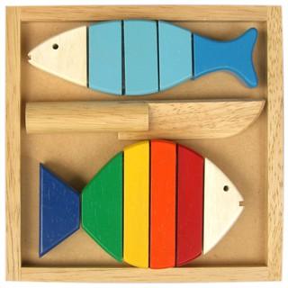 Đồ chơi gỗ Bộ đồ chơi cắt cá Winwintoys