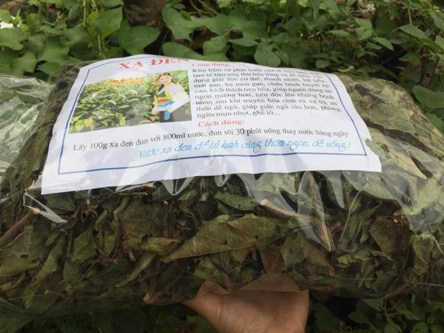 Combo 5kg Xạ đen Hoà Bình nguyên lá loại đẹp