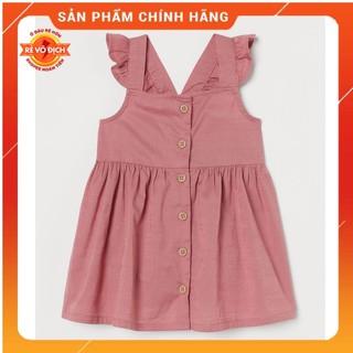 Váy Hai Dây Xòe Cho Bé Gái Chất Cotton Oganic 100% - Váy Thun Cho Bé, Xanh Đỏ Kẻ Trắng
