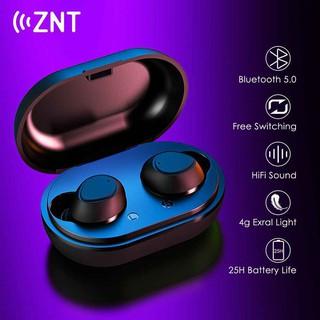 Tai nghe nhét tai không dây AirBuds Bluetooth 5.0 Kèm Mic Hỗ trợ cuộc gọi âm thanh Hộp sạc 600 mAh Âm thanh Hifi sắc nét