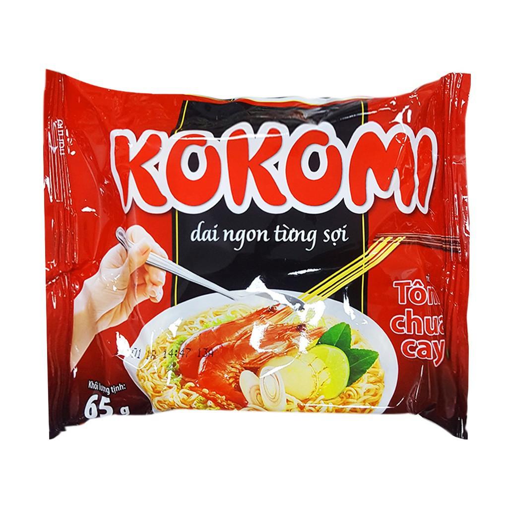 MÌ Tôm Chua Cay Kokomi 1 gói 65gr
