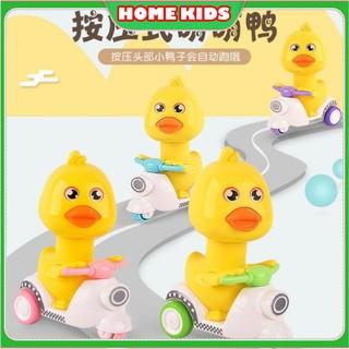 Đồ chơi trẻ em,Xe chú gà con đi VESPA đáng yêu xoay 360 độ thumbnail