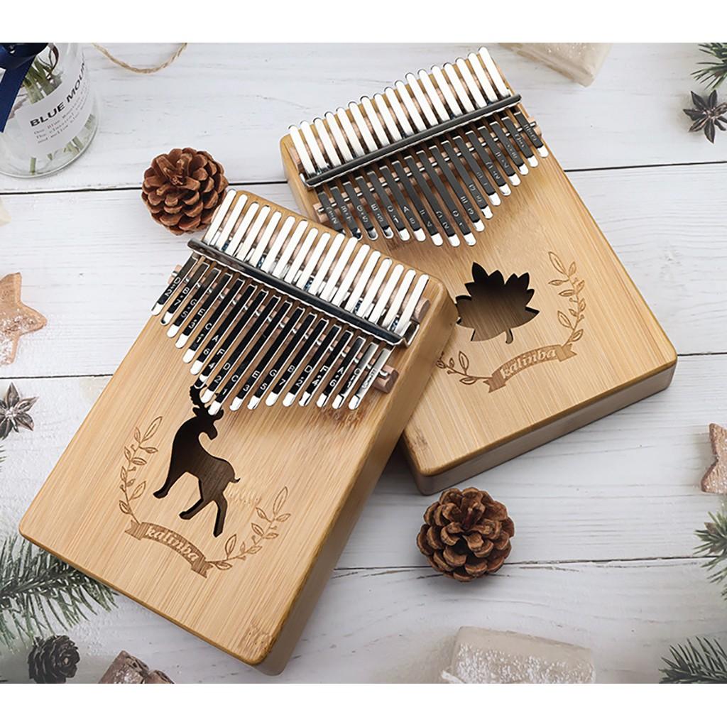 Kalimba 17 phím thumbs piano keyboard gỗ MAHOGANY GIÁ RẺ nhập tận xưởng ❤️FREE SHIP❤️