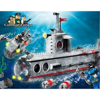 Bộ lắp ráp tàu ngầm 816 đồ chơi lắp ráp