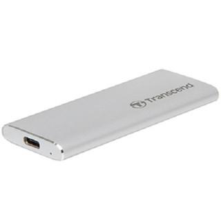 """Ổ cứng di động SSD Transcend ESD240C 2.5"""" USB Type C - (màu Bạc)"""