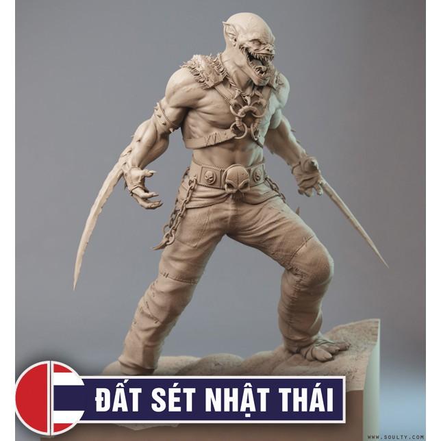 Dụng cụ điêu khắc nặn tượng Sáp, Đất Sét Nhật Thái 430