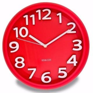 Đồng hồ treo tường kim trôi  Aoyun Clock  (Đỏ) TI307 (Nhiều mầu)