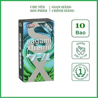 [Chính hãng] Bao cao su Siêu mỏng Sagami Xtreme hương Bạc Hà (Hộp thumbnail