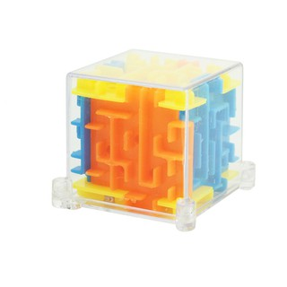 Children Puzzle Early Learning Toys 3D Maze Marble Cube Holiday Gifts