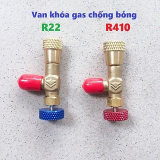 Van khóa gas chống bỏng R22 – R410A Hongsen [FREESHIP] Van chống bỏng Gas R410 – R22