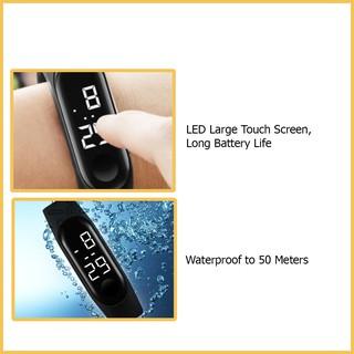 Đồng hồ Ulzzang sport unisex có đèn LED, chống thấm nước hiệu quả【WB-7COLOR】