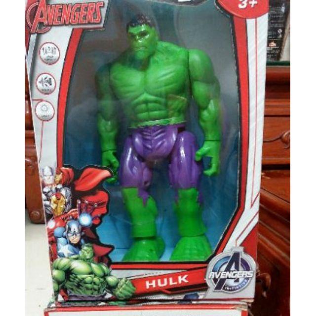 Đồ chơi trẻ em - Các anh hùng Avengers Marvel - Người khổng lồ xanh Hulk