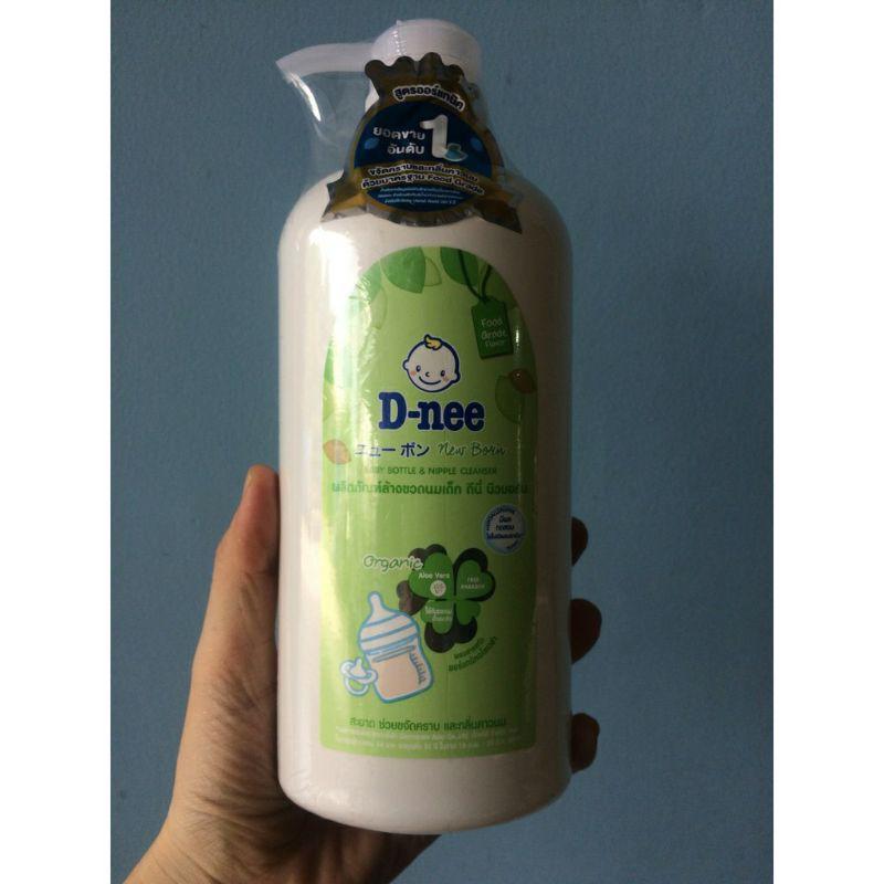 (HCM) Combo Chai + Túi Nước rửa bình Dnee siêu tiết kiệm cho Mẹ, an toàn cho bé