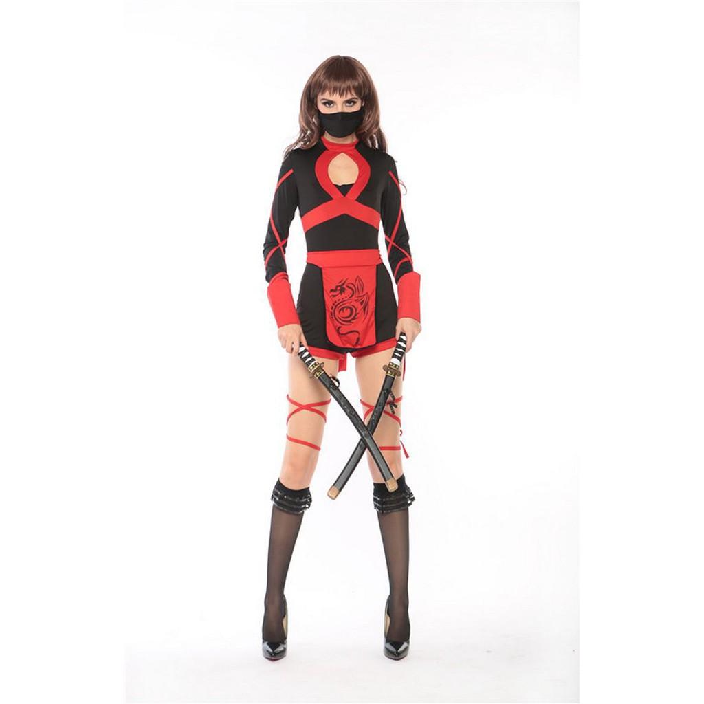 trang phục cosplay samurai ninja