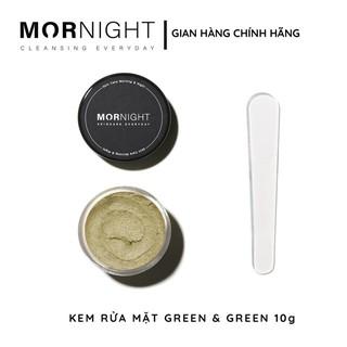 SỮA RỬA MẶT TRÀ XANH, dành cho da dầu, mụn, không gây khô da, không chứa chất bảo quản, paraben - 10G - MORNIGHT VIETNAM thumbnail