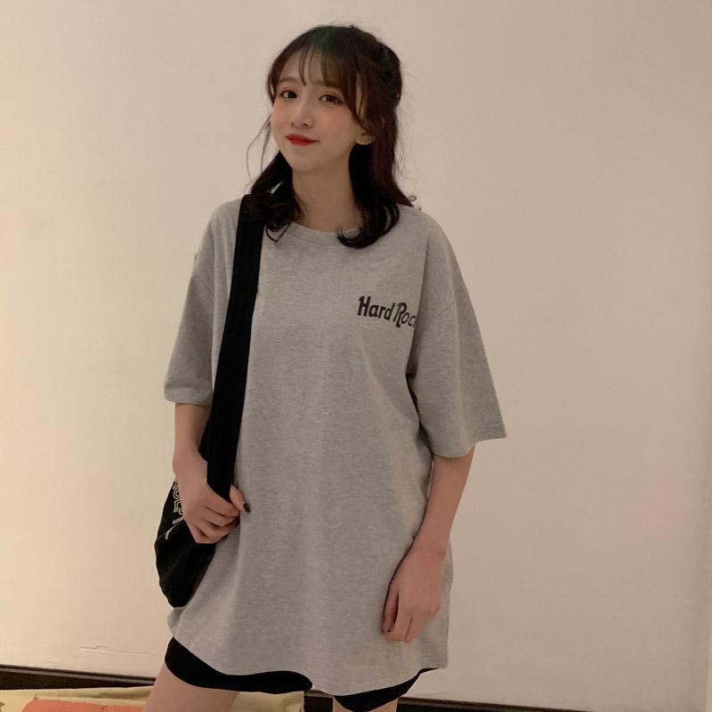 Áo thun ngắn tay in chữ phong cách Hàn Quốc năng động trẻ trung dành cho nữ - 14713403 , 2004074949 , 322_2004074949 , 125500 , Ao-thun-ngan-tay-in-chu-phong-cach-Han-Quoc-nang-dong-tre-trung-danh-cho-nu-322_2004074949 , shopee.vn , Áo thun ngắn tay in chữ phong cách Hàn Quốc năng động trẻ trung dành cho nữ