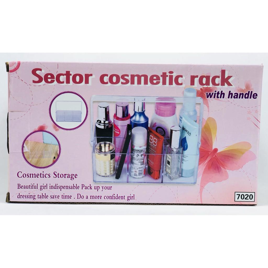 Hộp đựng mỹ phẩm có quai xách Sector Cosmetic - 4201 Hàng Loại 1