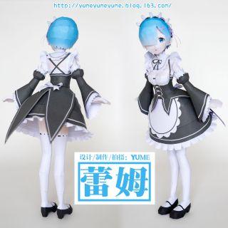 Mô hình giấy anime girl[Re:Zero kara Hajimeru Isekai Seikatsu] Rem