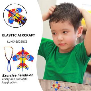 Bộ máy bay đồ chơi có gắn đèn đẹp mắt cho trẻ em