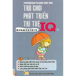 Sách - Trò Chơi Phát Triển Trí Tuệ IQ - Quyển 9 thumbnail