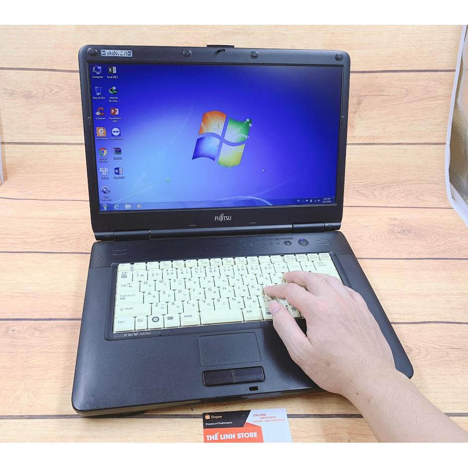 Laptop Fujitsu A8280 màn 15.6 inch - Ram 4G 250G