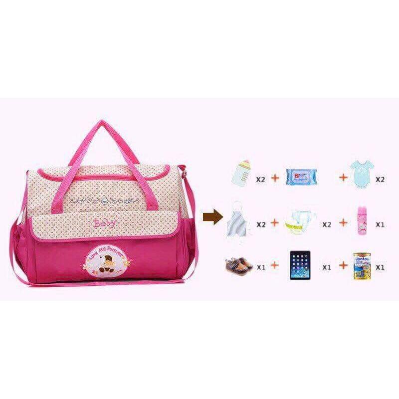 Set túi 5 chi tiết cho mẹ và bé - 14023920 , 2399209813 , 322_2399209813 , 245000 , Set-tui-5-chi-tiet-cho-me-va-be-322_2399209813 , shopee.vn , Set túi 5 chi tiết cho mẹ và bé