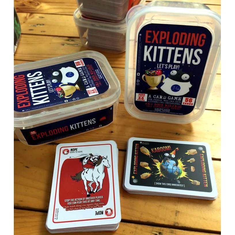 Bài Mèo Nổ - Exploding Kittens Board Game