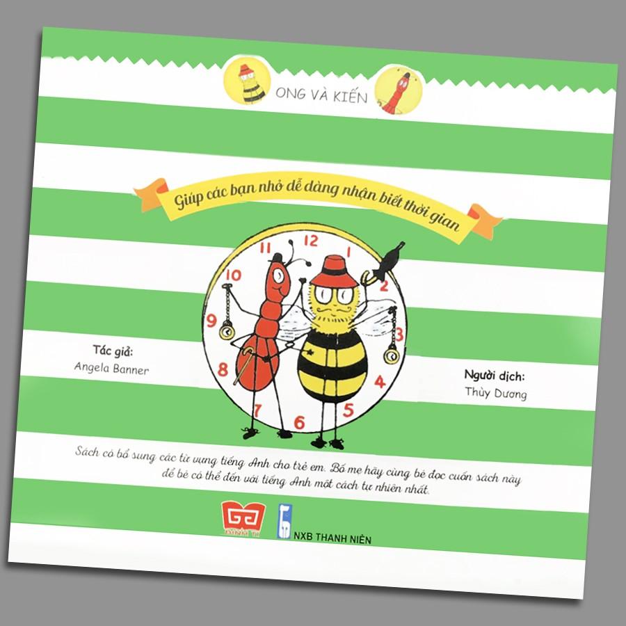 Sách - Ong và Kiến 5 - Tập xem đồng hồ