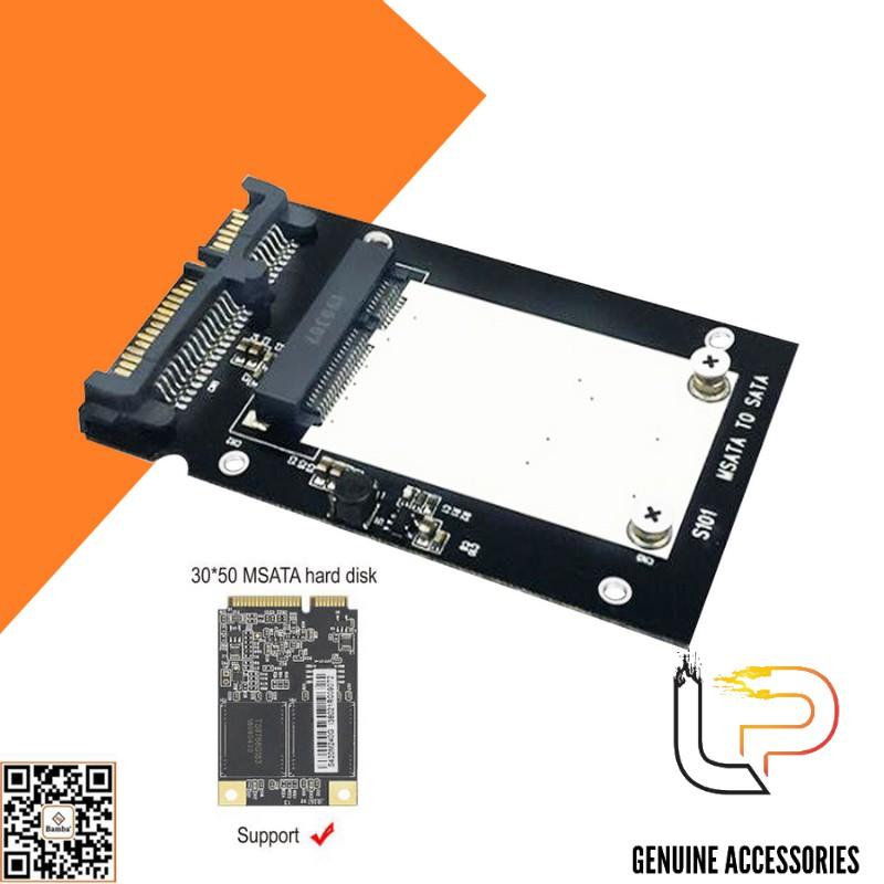 HỘP ĐỰNG Ổ CỨNG SSD MSATA BAMBA B2 - BOX SSD MSATA RA SATA 3 BAMBA B2
