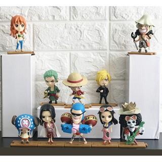Set 10 nhân vật One Piece – Team Hải Tặc Mũ Rơm