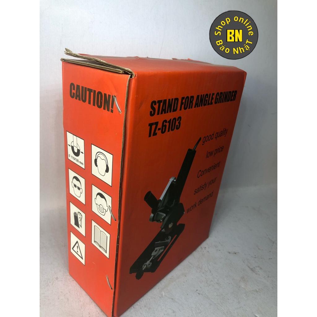 Khung Đế Kẹp Máy Mài Cằm Tay Thành Máy Cắt Bàn Mini Đế máy cắt bàn dùng cho máy cắt cầm tay TZ-6103 - BảoGroup