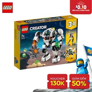 LEGO CREATOR 31115 Rô Bốt Khám Phá Không Gian ( 327 Chi tiết)