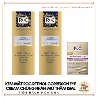 Kem Mắt RoC Retinol Correxion Eye Cream Chống Nhăn, Mờ Thâm 15M thumbnail