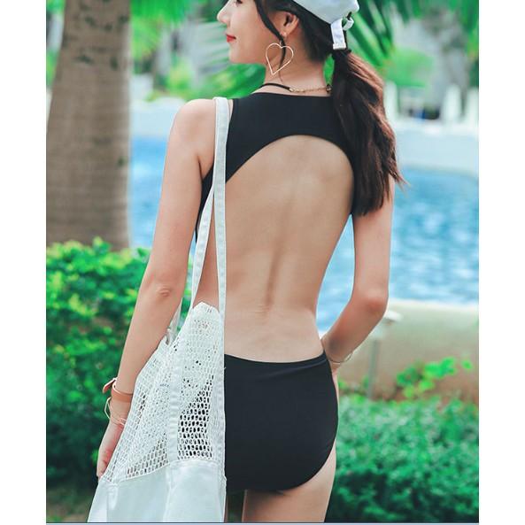 Set Đồ bơi tập bơi bikini tắm biển nữ rời phong cách hàn quốc 2019 ( có sẵn XL )