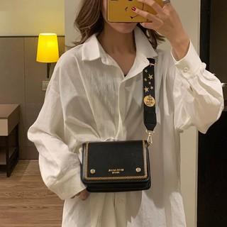 Túi da đeo chéo nữ thời trang T65 19x14x8cm (Đen – Nâu đậm – Nâu sáng – Nâu đất – Đỏ)