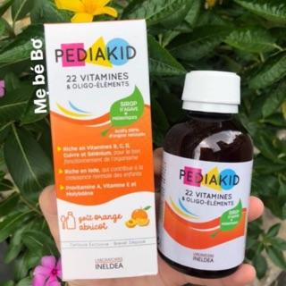 Pediakid 22 Vitamin bổ sung đa Vitamin cho bé