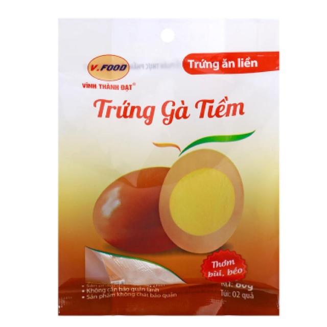 Trứng gà tiềm ăn liền V.Food 80g - 2566542 , 320257794 , 322_320257794 , 16000 , Trung-ga-tiem-an-lien-V.Food-80g-322_320257794 , shopee.vn , Trứng gà tiềm ăn liền V.Food 80g