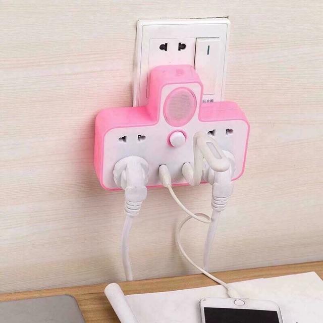 Ổ cắm điện đa năng kèm usb - 2856783 , 1300898469 , 322_1300898469 , 75000 , O-cam-dien-da-nang-kem-usb-322_1300898469 , shopee.vn , Ổ cắm điện đa năng kèm usb
