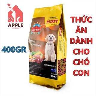 """[PRO DOG PUPPY] [400 GRAM] Thức ăn cao cấp dành cho cún con giá chỉ còn <strong class=""""price"""">800.000.000đ</strong>"""