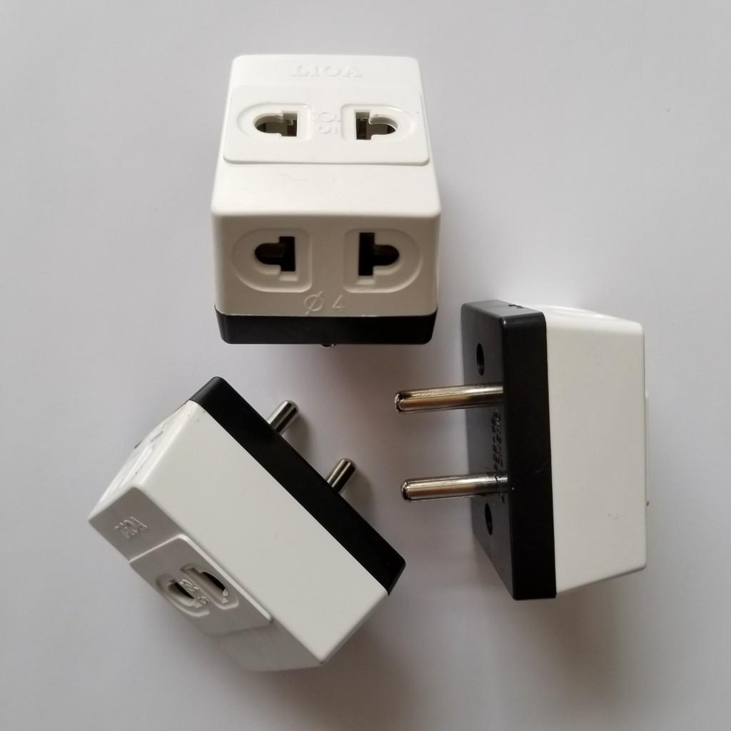 Ổ cắm nối chia 3 ngả, chân dẹt LIOA ON3NCD - Ổ cắm điện
