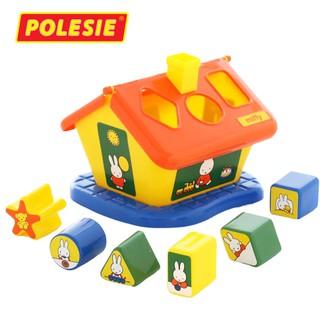 Bộ đồ chơi thả hình Ngôi nhà thỏ Miffy – Polesie Toys