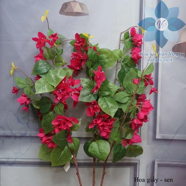 Hoa Giả 🌺FREESHIP🌺 Giảm 10k Khi Nhập [ HOA LUA ] Hoa giấy trang trí nhà cửa