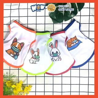 [F028] Áo 3 Lỗ Thú Cưng Đeo Khẩu Trang Wowpets, Thời Trang Cho Chó Mèo Dễ Thương thumbnail